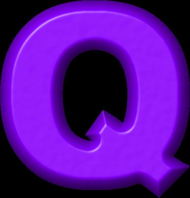 Presentation alphabets purple refrigerator magnet q reheart Gallery