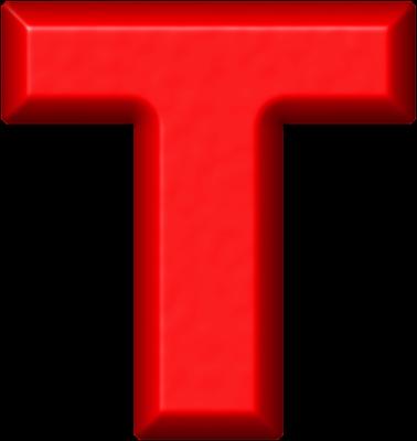Elegant ETC U003e Presentations ETC Home U003e Alphabets U003e Refrigerator Magnets U003e Red U003e  Letter T