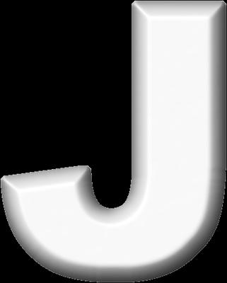 presentation alphabets white refrigerator magnet j With white letter magnets