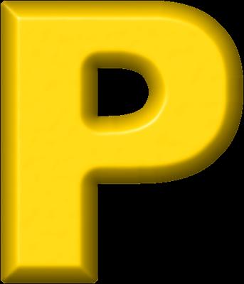 Presentation... Yellow Letter P