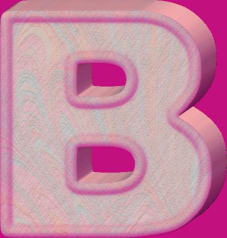 Alphabet Letter Birthday Cakes
