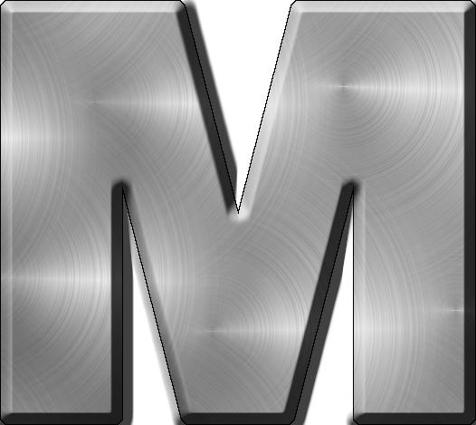 Metal Alphabet Letters