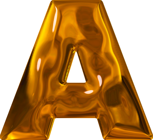 etc presentations etc home alphabets themed letters lumpy gold letter a