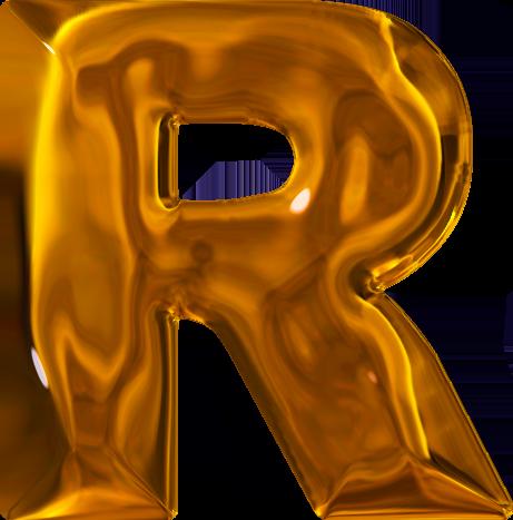 H Letter In Gold Presentation Alphabets...