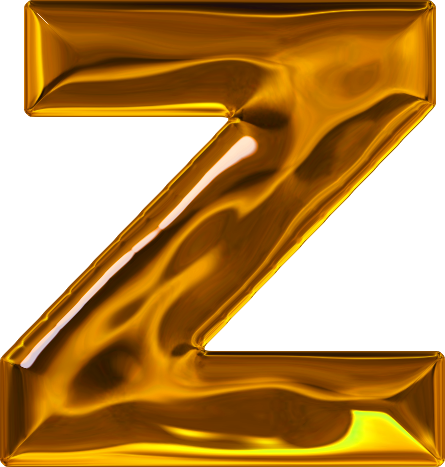 Z Alphabet In Diamond Letter Z Gold Set: lumpy gold letter z How To Draw A 3d Diamond
