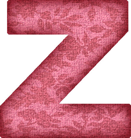 ... etc home alphabets themed letters pink flower fabric letter z