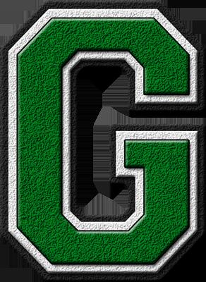 g alphabet letter  ... home alphabets varsity