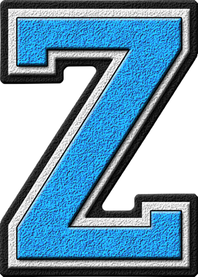 ... etc home alphabets varsity letters light blue letter z site