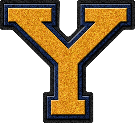 y letter in gold - photo #26