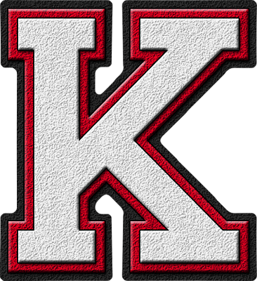 Go Back > Gallery For > Cool Letter K Red