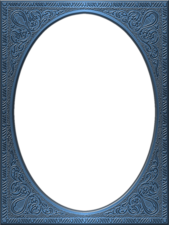 Presentation Photo Frames Tall Fancy Oval Style 32