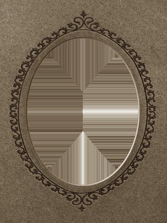 presentation photo frames tall oval mat style 20