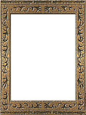 Presentation Photo Frames Tall Fancy Rectangle Style 17