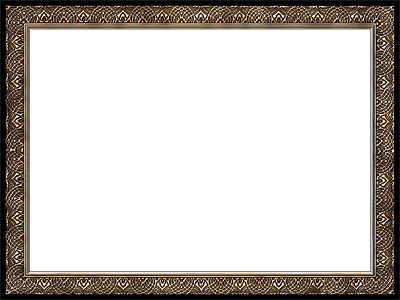 Presentation Photo Frames: Wide Fancy Rectangle, Style 25