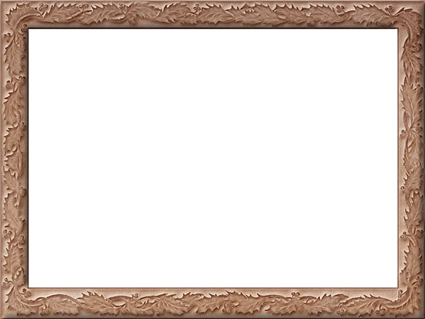 Presentation Photo Frames: Wide Fancy Rectangle, Style 37