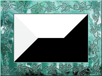 presentation photo frames wide fancy rectangle style 42