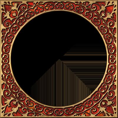 presentation photo frames round style 02