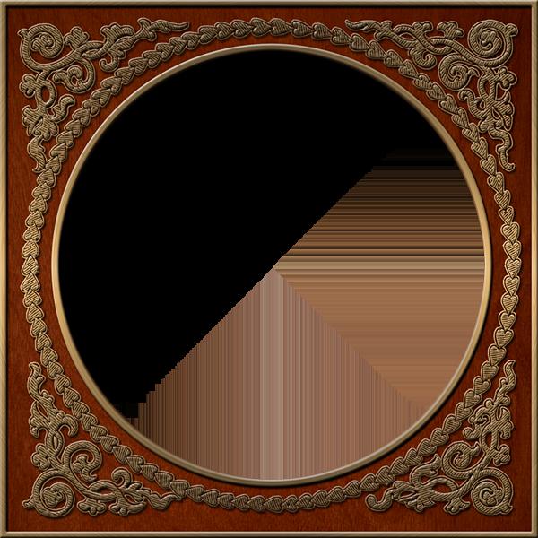 presentation photo frames round style 39