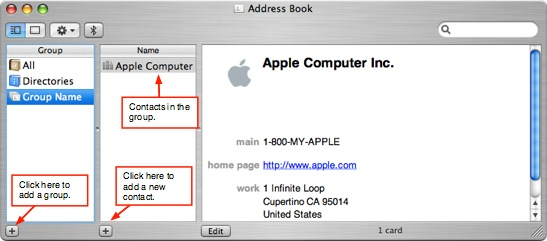 how to create an email list in mac mail