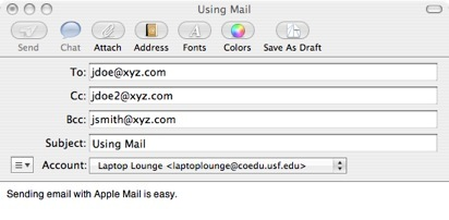 How do you send a text message to an email address