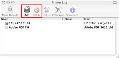 os x reinstall printer drivers