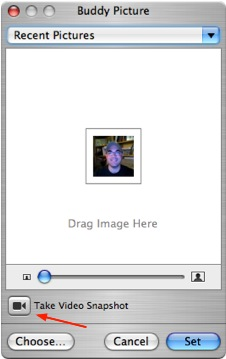 how to change my mac login picture