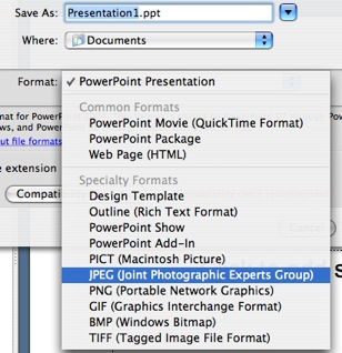 how do i use flickr to create online presentations images mac
