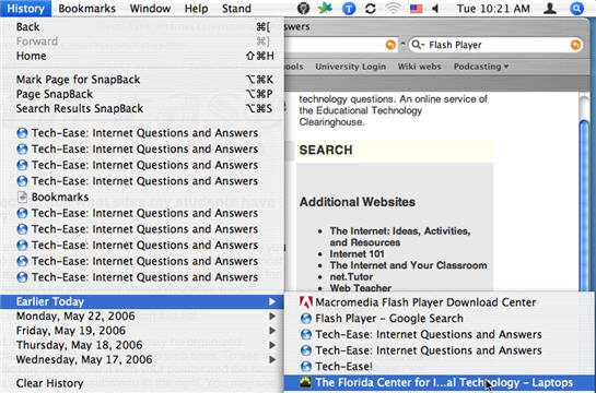 How to Delete Browsing History on Mac