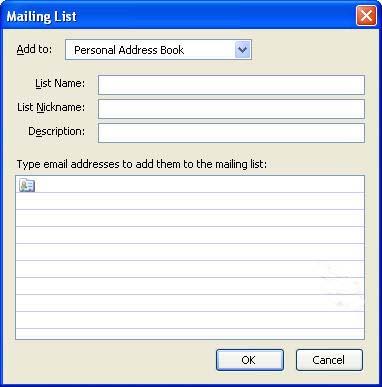 How Do I Create An Email List E Mail Windows Tech Ease