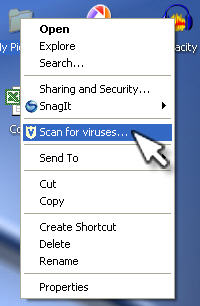 How do I protect my data from viruses? » Files & Sharing » Windows