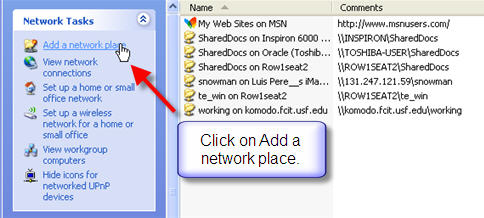 How do I connect to a shared folder on the network? » Files