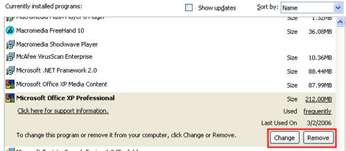 How do I install and uninstall programs on my computer