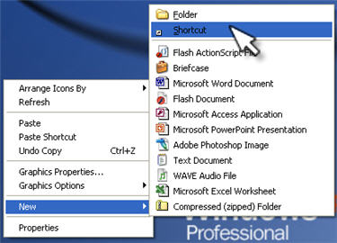 What is a shortcut, and how do I create one? » Files & Sharing