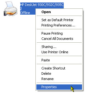 I can't print, what should I do? » Hardware » Windows » Tech Ease
