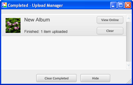 How do I create a web album in Picasa? » Images » Windows » Tech Ease