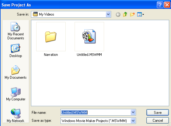How do I create a movie in Windows Movie Maker? » Images