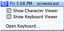 Using the onscreen keyboard in Mac OS X » Motor Skills