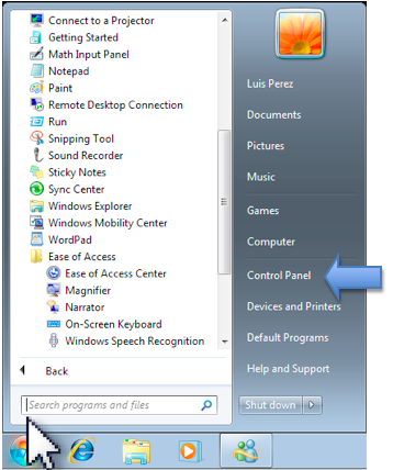 Making the Cursor Easier to See in Windows 7 » Vision » 4All » Tech Ease