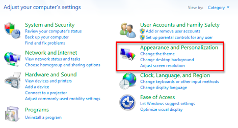 Adjusting the Display Contrast in Windows 7 » Vision » 4All