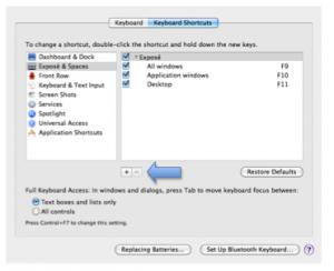 Creating keyboard shortcuts in Mac OS X » Motor Skills » 4All » Tech