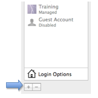 Add button for creating a new account in Accounts window.