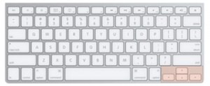 Keyboard layout with Quick Nav (arrow keys) highlighted.