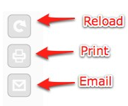Readability buttons: Reload, Print, Email.